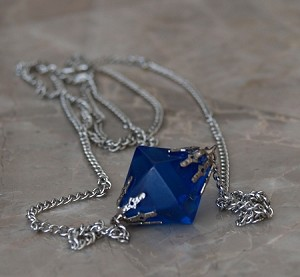 "Lana ""Blue"" Kryptonite necklace"