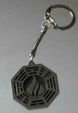 Dharma Key fob FLAME Station