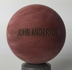 Minority Report Precog Wood Sphere,  Laser Engraved